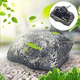 WiseGoods - Escondite para llaves de alta calidad, piedra con compartimento secreto y piedra geocaching.