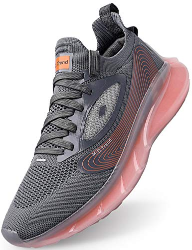 IYVW FL.28 Laufschuhe Herren Damen Turnschuhe Sportschuhe Straßenlaufschuhe Sneaker Leichte Atmungsaktiv Trainer für Running Fitness Gym Outdoor