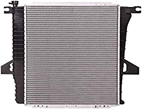 Lynol Cooling System Complete Aluminum Radiator Direct Replacement Compatible With 1998-2001 Ford Ranger Mazda B2500 Pickup Truck L4 2.5L
