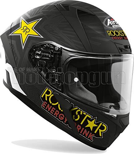 MOTOTOPGUN AIROH VARK35 Casco de moto integral mate Valor Rockstar Tal