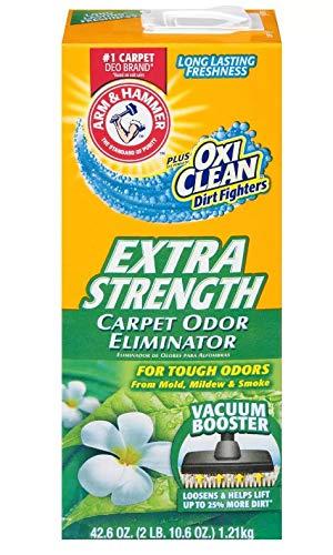 Arm & Hammer Extra Strength Odor Eliminator for Carpet and Room, Carpet Cleaner Best Value (42.6 Oz)