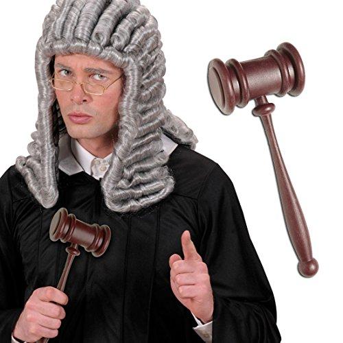 Convertidor transformador de acción martillo de la subasta de corte profesor de martillo mazo para disfraz de carnaval accesorios para disfraces de abogado