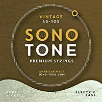 SonoTone Vintage Electric Bass Strings 45-105 [並行輸入品]