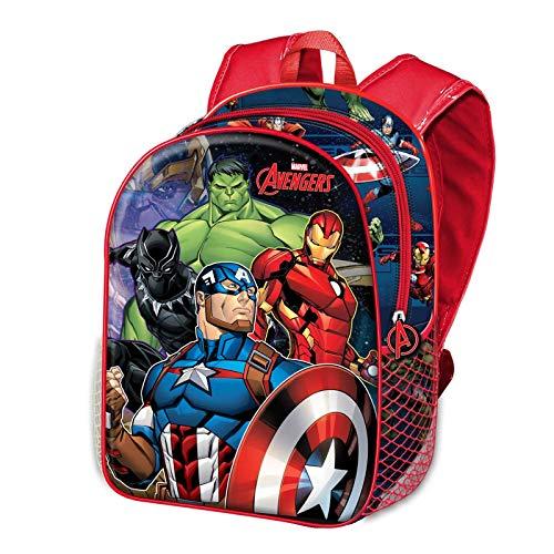 KARACTERMANIA The Avengers vs Thanos 3D-Rucksack (klein)