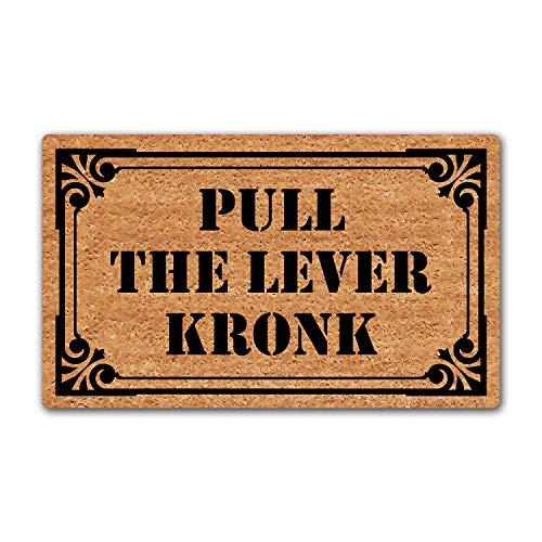 LuckyChu Pull The Lever Kronk Doormat Funny Floor Mat Rug Non-Slip Entrance Indoor Outdoor Bathroom...