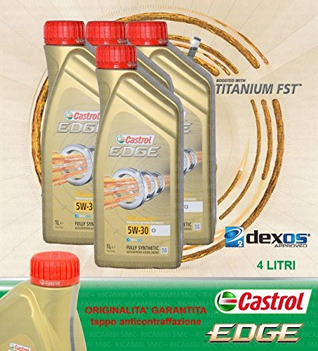 Motorolie CASTROL Edge C3 5W30 LT.4 (4 liter) - Origineel