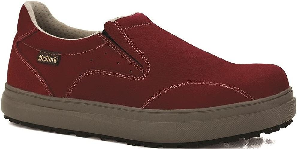 Bestard , Chaussures de randonnée Montantes pour Femme Rouge Rouge