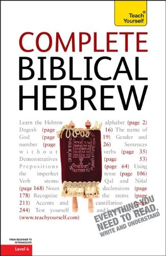 Complete Biblical Hebrew: A Teach Yourself Guide (TY: Language Guides)