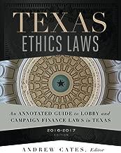 Texas Ethics Laws 2016-2017