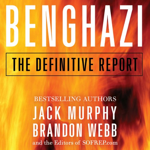 Benghazi audiobook cover art