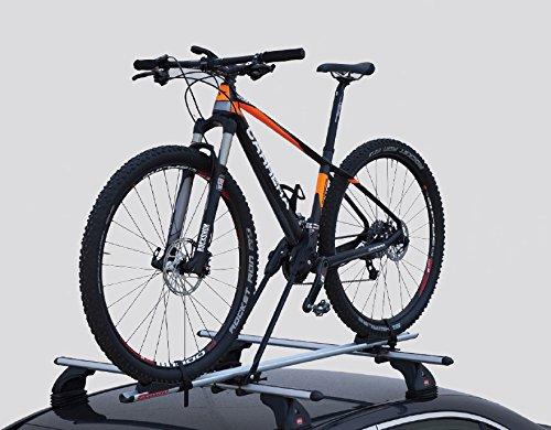 Fabbri PORTABICI da Tetto per Barre Auto Bici 3000 Alu New Anche Bici ELETTRICHE