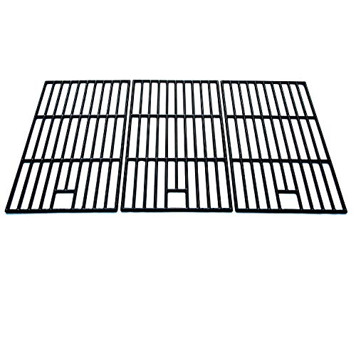 Direct store Parts DC102 Polished Porcelain Coated Cast Iron Cooking Grid Replacement Master Forge, Perfect Flame Gas Grill