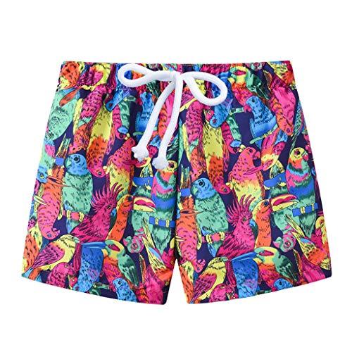 Julhold Kleinkind Baby Kids Boy Sommer Print Bademode Badeanzug Beach Pants Casual Sieben Farben fünf Größen zur Auswahl
