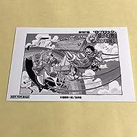 ワンピース 1000LOGS 扉絵ブロマイド 麦わらストア ジャンプショップ 707話 ルフィ ナミ ロビン