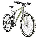 KS Cycling Mountainbike MTB Fully 26' Scrawler weiß RH 51 cm