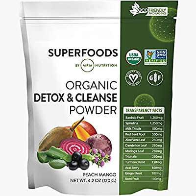 MRM Super Foods - Detox & Cleanse, 4.2 Ounce from Mrm