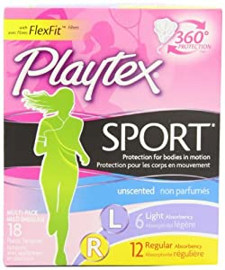 Playtex Sport Tampons, Unscented Multipacks