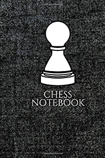 Chess Notebook: Paperback Journal Match Scorebook to Keep Record of Your Games Log Wins Moves & Strategy Medium Size Notebook, Easy to Carry and also ... on each move (Chess Records) (Volume 19)