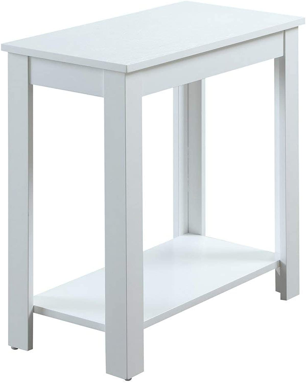 Convenience Concepts Designs2Go Baja Chairside End Table, White