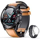 AGPTEK Smartwatch, Reloj Inteligente 1.3 Inch HD con Control de Oxígeno/presión Arterial/Monitoreo del Sueño, Pulsera Actividad de Fitness IP68 con Correa Repuesta para Hombre Mujer