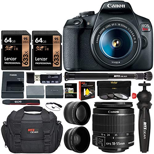 Why Should You Buy Canon EOS Rebel T7 DSLR Camera Travel Bundle with 58mm 2X Professional Telephoto ...
