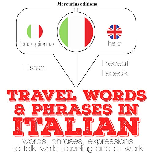 Travel words and phrases in Italian  By  cover art