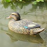 RioRand Highly Realistic Plastic Duck Hunting Decoy Garden Decor (Female)