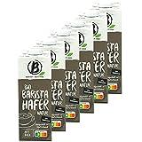 Berief - 6er Pack Bio Haferdrink Barista 1 Liter - Oat Hafer Drink 100 % pflanzlich zum Aufschäumen für Kaffee, Shakes und Smoothies