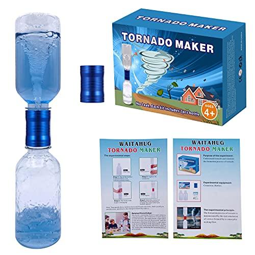 Tornado tube bottle connectors cyclone toy...