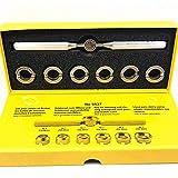 7 unids herramienta de reparación abridor Gadgets removedor kit reloj caso trasero diferente tamaño de ranurado comprobar para Rolex