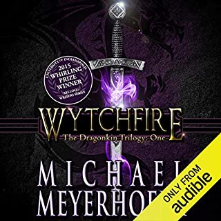 Wytchfire audiobook cover art