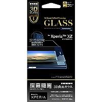 ラスタバナナ Xperia XZ 3DバリアパネルG (ブルー) 3S764XPXZA