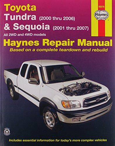 Toyota Tundra, 00-'06 & Sequoia, 01-'07 Technical Repair Manual