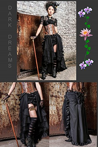 Dark Dreams Gothic Mittelalter LARP Rock Black Mamba - 4
