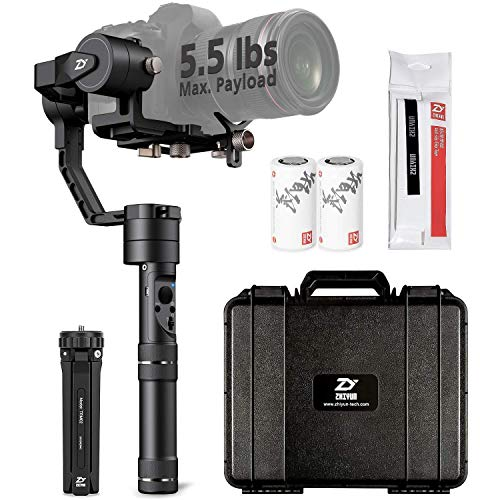 ZHIYUN CRANE PLUS [UFFICIALE] (CRANE V2 Upgrade Ver 2018) 3-Axis Handheld Gimbal Camera Stabilizer per DSLR