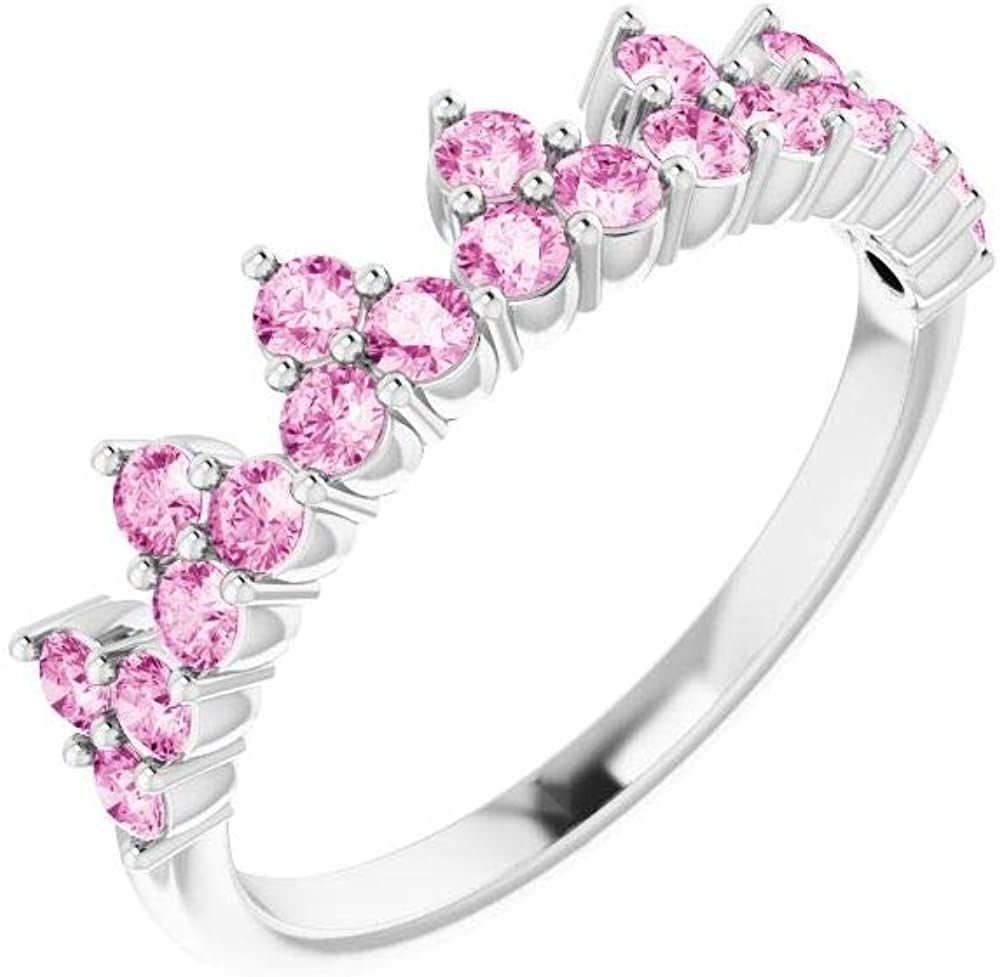 Color Stone Ring Max Ranking TOP12 85% OFF Crown Accented