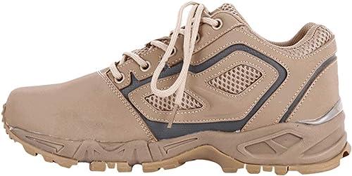 LIUYL Chaussures de de randonnée Militaires pour Hommes Bottes de Combat à Lacets Désert d'été Chaussures Bottes de sécurité pour Cadets Marche en Plein air Chaussures antidérapantes,Beige-41  présentant toutes les dernières mode de la rue haute