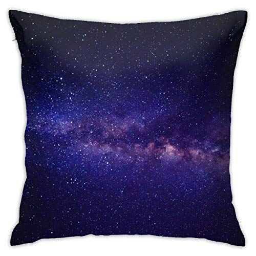 CVDGSAD Funda de almohada Galaxy-Infinity-Way-Orbit Milky-Way-Orbit 18'x18' Funda de almohada decorativa funda de almohada