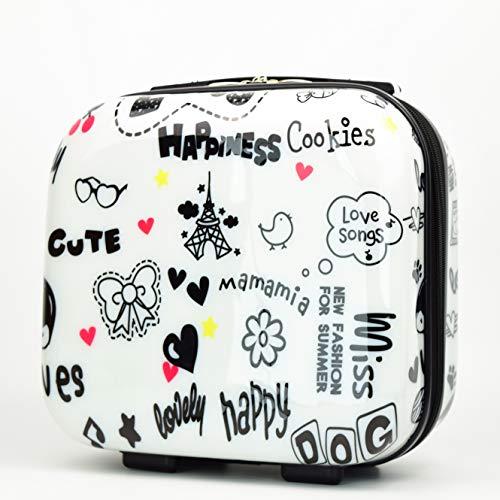 Gloria Kaos - Vanity Case – Mallette Beauty Case ultra légère en polycarbonate flexible