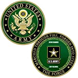 Expert craftsmanship – Makes a perfect Army graduation gift, or a soldier gift for kids, women or men This coin for Soldiers features the Army Seal on the front The back of this Soldier's coin is the Army logo on the back with Marched Through Fire, F...
