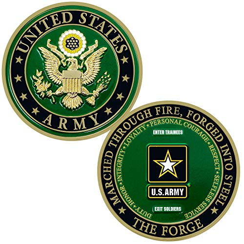 The Forge U.S. Army Soldier Challenge Coin - Army Gifts