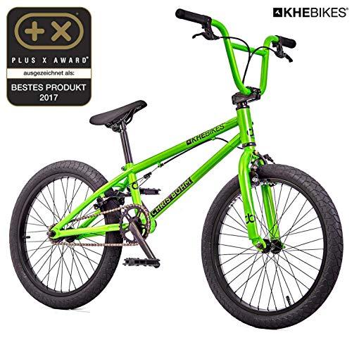KHE - Bicicletta BMX Chris BÖHM, solo 11,45 kg, colore: Verde