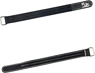 RJX Hobby Kevlar Rubbr Grip Battery Straps For High Speed Racing Drones 20x250mm 2Pcs