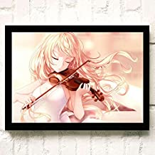 Your Lie in April Japanese Anime Poster Prints Wall Art Decor Unframed,32x22 16x12 Inches,Multiple Patterns Available