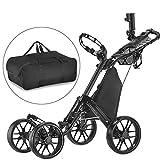 CaddyTek one Klick-klappbar golf trolleys