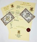 ✅ Carta de aceptación Hogwarts de Harry Potter