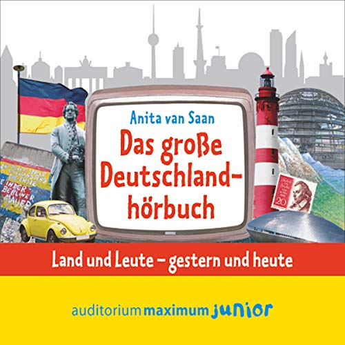 Das große Deutschlandhörbuch Titelbild