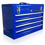US PRO Tools - Caja de herramientas con 4 cajones (portátil), color azul