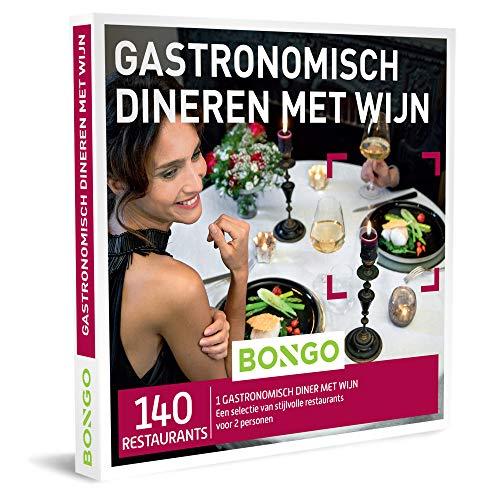 Bongo Bon - Gastronomisch Dineren met Wijn | Cadeaubonnen Cadeaukaart cadeau voor man of vrouw | 140 klasserestaurants