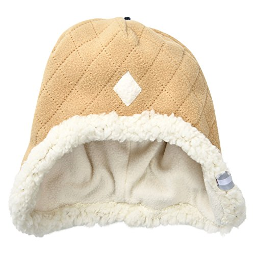 Lodger Bonnet en Polaire pour bébé 6 à 12 m Sable scandinave